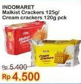 Promo Harga INDOMARET Indomaret Malkist/Cream Cracker  - Indomaret
