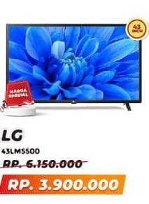 Promo Harga LG 43LM5500PTA FHD TV  - Yogya