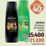Promo Harga EMERON Shampoo All Variants 340 ml - LotteMart