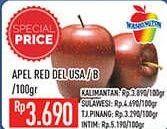 Promo Harga Apel Red Del USA  - Hypermart