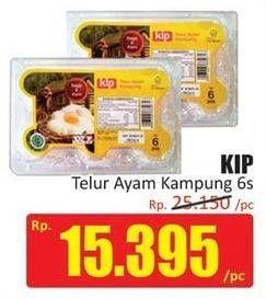 Promo Harga KIP Telur Ayam Kampung 6 pcs - Hari Hari