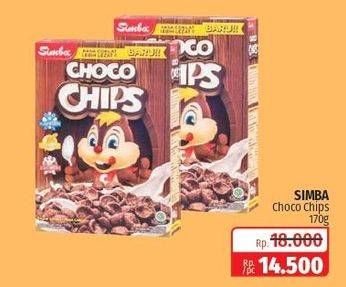 Promo Harga SIMBA Cereal Choco Chips All Variants 170 gr - Lotte Grosir
