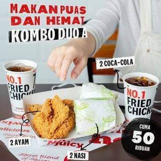 Promo Harga KFC Kombo Duo Kombo A  - KFC