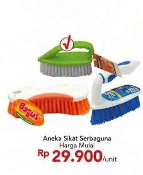Promo Harga BAGUS Sikat Serbaguna  - Carrefour