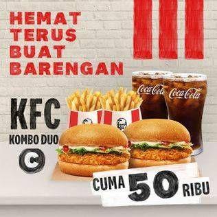 Promo Harga KFC Kombo Duo Kombo C  - KFC