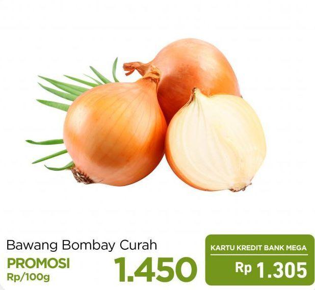 Promo Harga Bawang Bombay per 100 gr - Carrefour