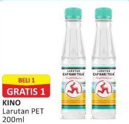 Promo Harga CAP KAKI TIGA Larutan Penyegar 200 ml - Alfamart