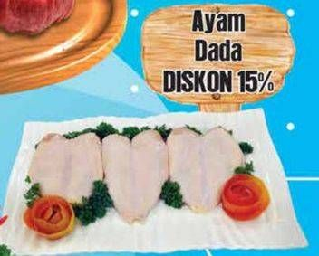 Promo Harga Ayam Dada per 100 gr - Yogya