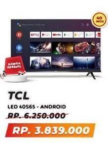 Promo Harga TCL 40S65A LED TV  - Yogya