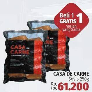 Promo Harga CASA DE CARNE Chicken Sausage 250 gr - LotteMart