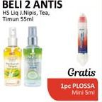 Promo Harga ANTIS Hand Sanitizer Jeruk Nipis, Timun, Jasmine Tea 55 ml - Alfamidi